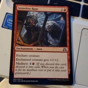Senseless rage magic card